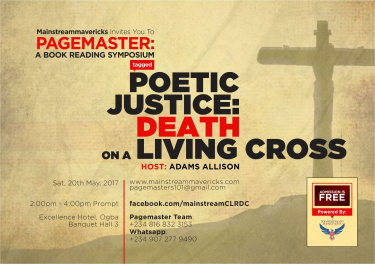Pagemaster Symposium - Poetic Justice: Death on a Living Cross