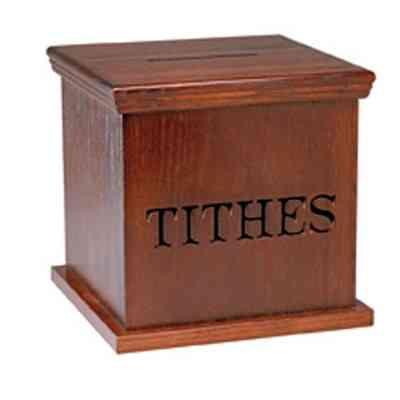 tithe-box